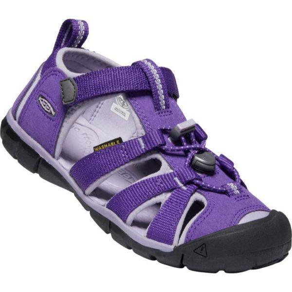 Girls Sandals - KEEN Youth Seacamp II CNX, Royal Purple/Lavender Gray