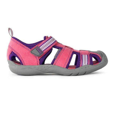 Girls Sandals - Pediped Sahara Fuchsia