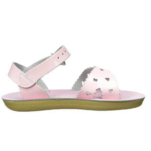 Girls Sandals - Salt Water Shiny Pink Sweetheart 1408S (Water Safe)