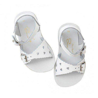 Salt Water White Sweetheart / Toddler / Kids / Youth / Water Friendly - ShoeKid Canada
