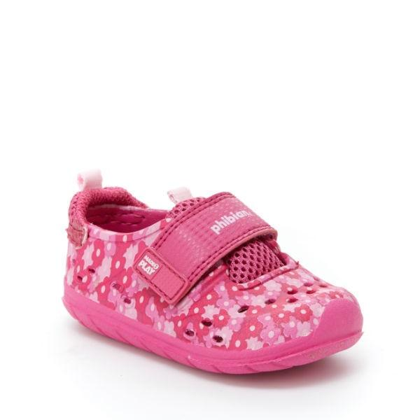 Girls Sandals - Stride Rite Baby Phibian Pink/ Fits Small