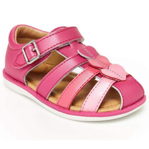 Girls Sandals - Stride Rite Ella Fuschia Girls Sandals