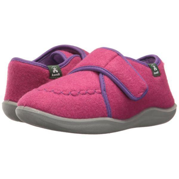 Girls Slippers - Kamik Kids' Cozylodge Girls Slippers