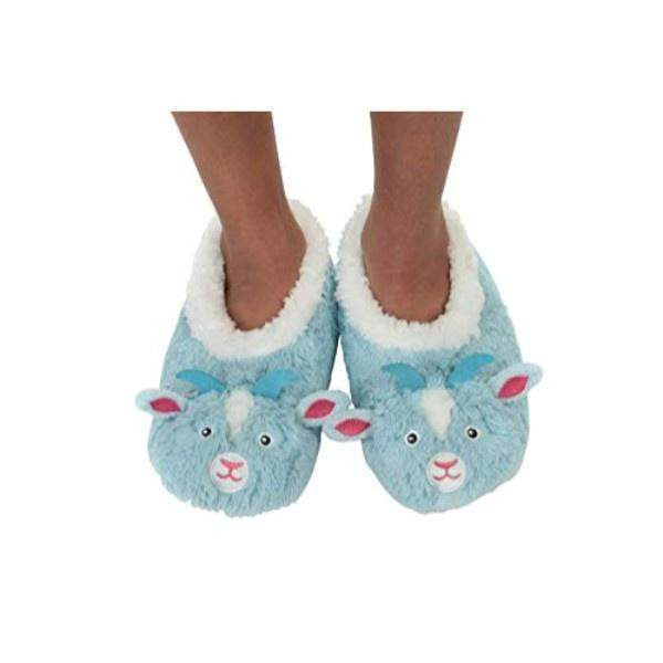 Snoozies Goat Indoor Cozy Slippers (/Toddler/Little Kids) - ShoeKid.ca
