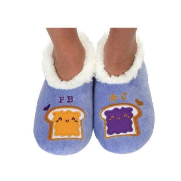 Snoozies PB & Jelly Indoor Slippers / Toddler / Little Kids - ShoeKid Canada
