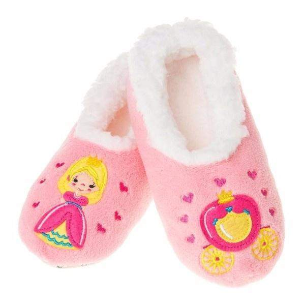 Girls Slippers - Snoozies Princess Cozy Slippers / Infant / Toddler / Little Kids
