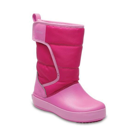 Girls Winter Boots - Crocs LodgePoint Girls Snow Boot / Toddler / Little Kids