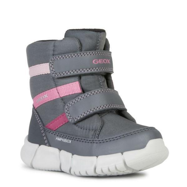 Geox Girls Flexyper ABX Waterproof Toddler Winter Boots – 25C - ShoeKid Canada