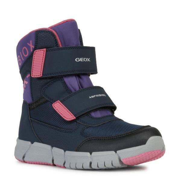 Geox Girls Flexyper ABX Waterproof Winter Boots -25C - ShoeKid Canada