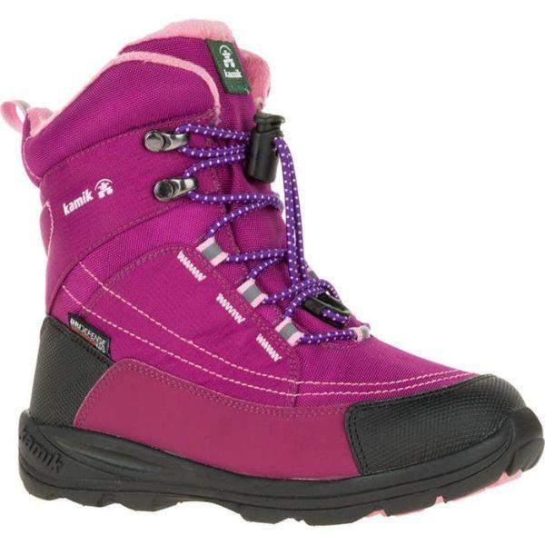 KAMIK Valdis Kids Girls Waterproof Winter Boots -32C