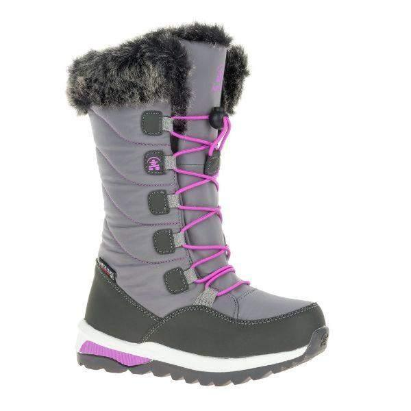 Kamik Prairie Girls Waterproof Winter Boots -40°C (Made in Canada)