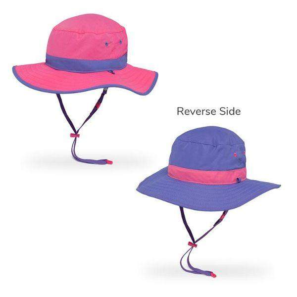 Sunday Afternoons Kids Clear Creek Boonie Sunhat Hot Pink UPF 50+