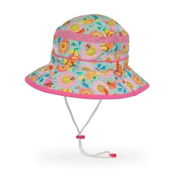 Sunday Afternoons Kids Fun Bucket Pollinator Sunhat UPF 50+