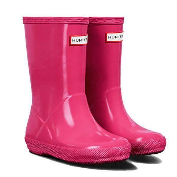 Hunter Kids Original First Gloss Rain Boots - ShoeKid.ca