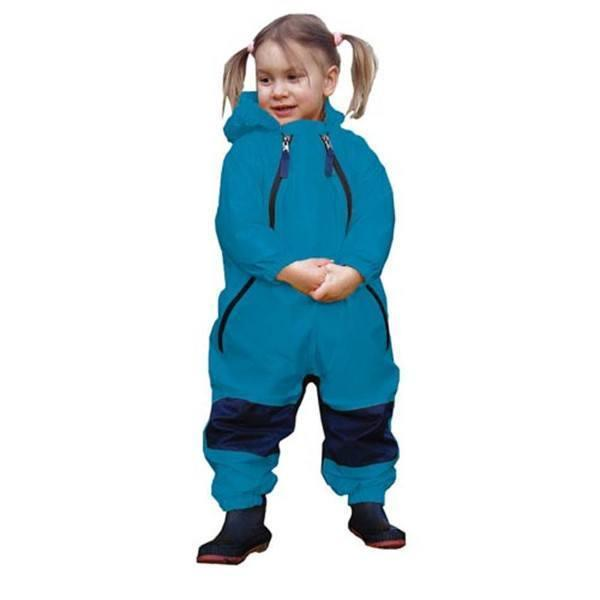 Muddy Buddy Waterproof Splash Suit - Blue