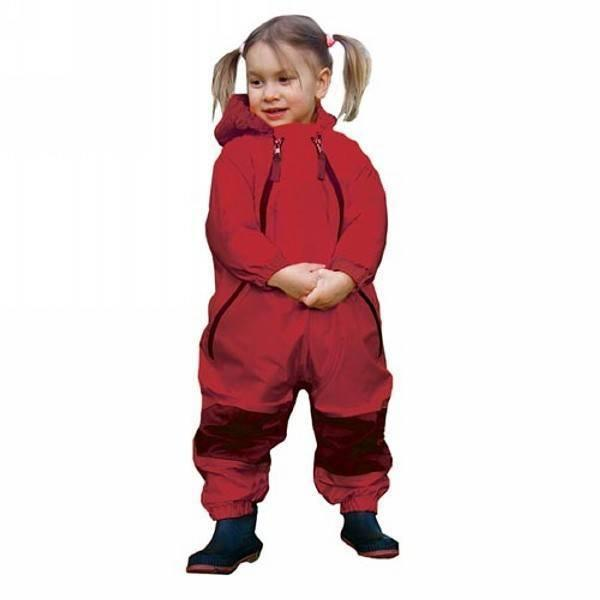 Muddy Buddy Waterproof Splash Suit - Red