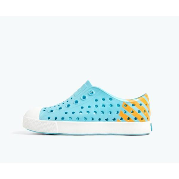 Native - Native Jefferson Child Block Hamachi Blue / Shell White
