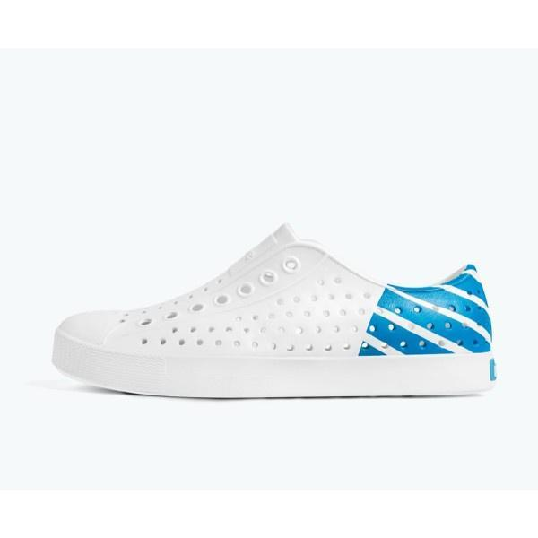 Native - Native Jefferson Junior Block / Shell White