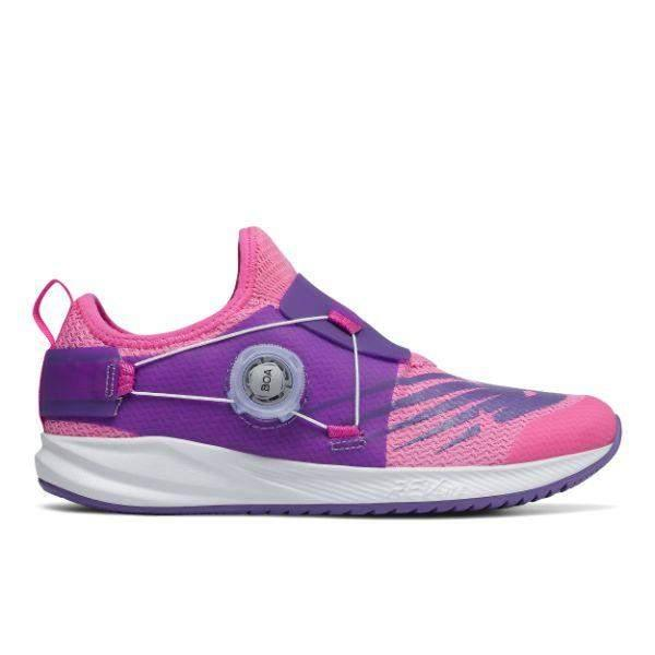 New Balance PKRVLV2 Kids Fuel Core Girls Running Shoes BOA Lace