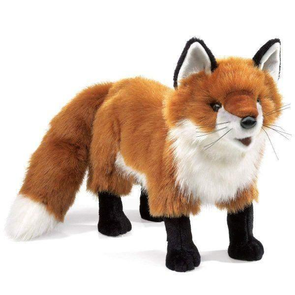 Puppet - Folkmanis Red Fox Kids Hand Puppet