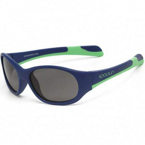 Koolsun Fit Kids Sunglasses Navy Spring /UV400 Protection