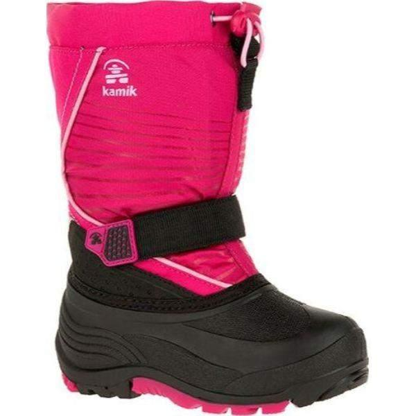 Kamik Girls Snowfall Waterproof Winter Boots Made in Canada -40C