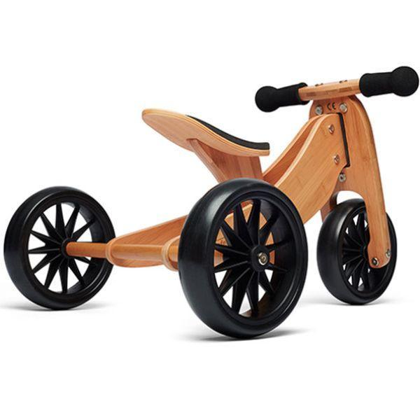 Kinderfeets Bamboo Tiny Tot 2-in-1 Trike Balance Bike