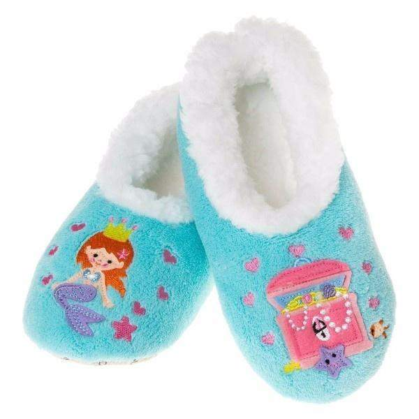 Snoozies Mermaid Indoor Slippers / Infant / Toddler / Little Kids - ShoeKid.ca