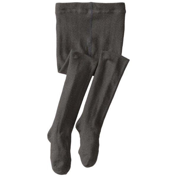 Jefferies Organic Cotton Tights / Charcoal - shoekid.ca