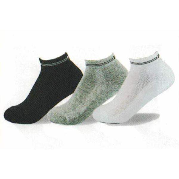 Socks - Point Zero Crew Sports Cotton Kids Socks (3 Pairs)