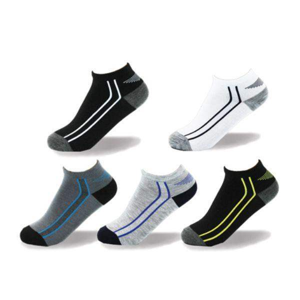Socks - Point Zero Sports Athletic Kids Socks (5 Pairs)