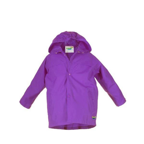 Splash Jacket - Splashy Kids Rain Jacket Purple - Breathable - 100% Waterproof