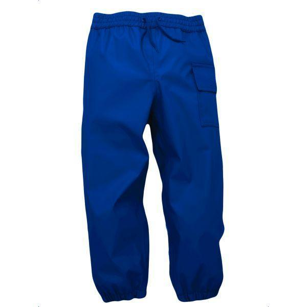 Hatley Boys Navy Rain Pants Navy (100% Waterproof)