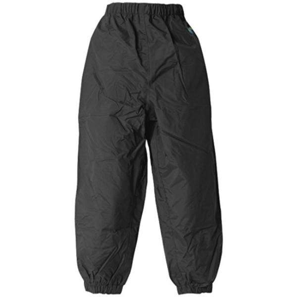 Splashy Kids Rain Pants Black (100% Waterproof)