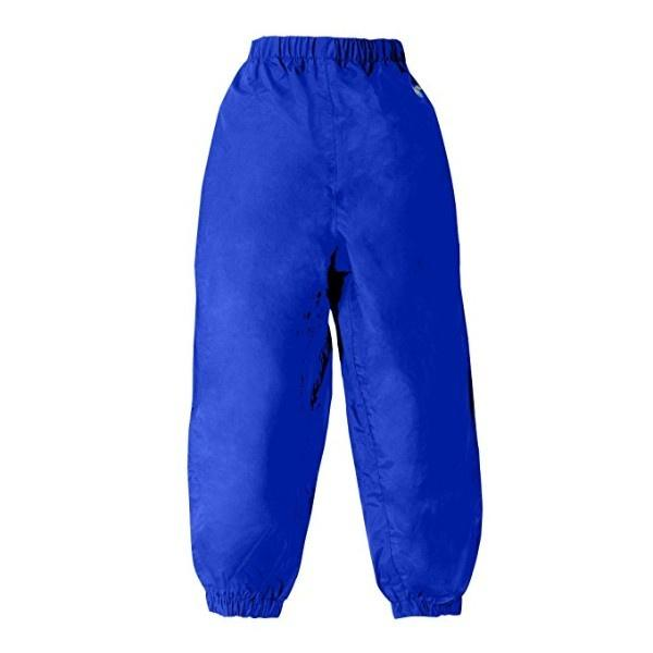 Splashy Kids Rain Pants Blue (100% Waterproof) - ShoeKid.ca
