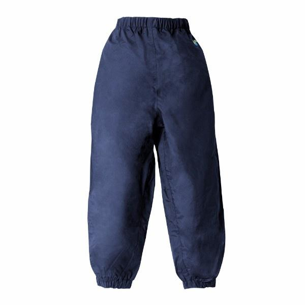Splashy Kids Rain Pants Navy (100% Waterproof) - ShoeKid.ca
