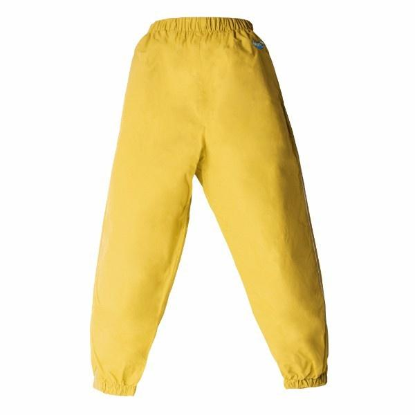 Splashy Kids Rain Pants Yellow – 100% Waterproof - Windproof - ShoeKid Canada
