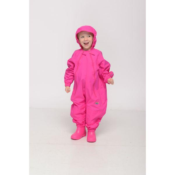 Splashy Kids Rain Suit Pink - 100% Waterproof
