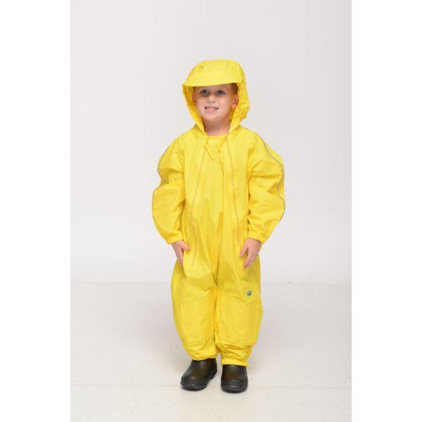 Splashy Kids Rain Suit Yellow - 100% Waterproof - ShoeKid.ca