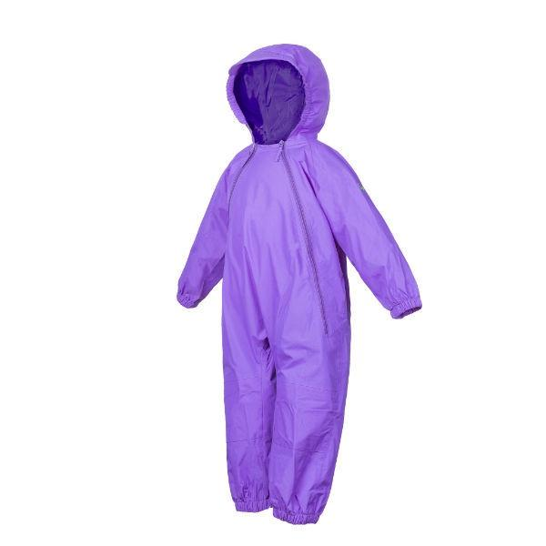Splashy Kids Rain Suit Purple - 100% Waterproof