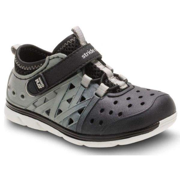 Stride Rite PHIBIAN Black Gray Water Friendly Sandals