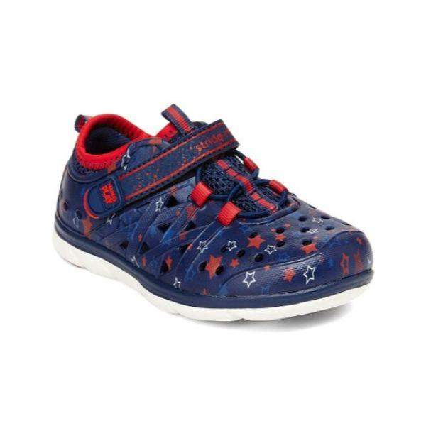 Copy of Stride Rite PHIBIAN NAVY Star Water Friendly Sandals
