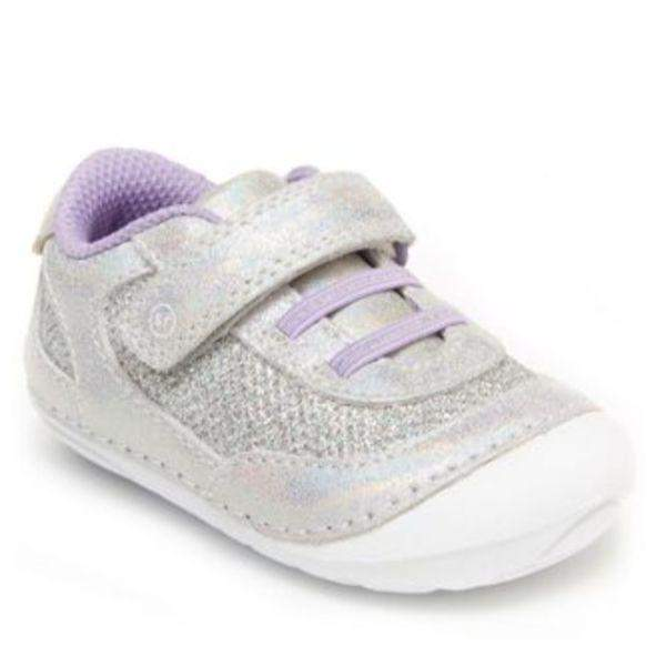 Stride Rite Girls Jazzy Iridescence Infant Toddler Baby Shoes - ShoeKid.ca