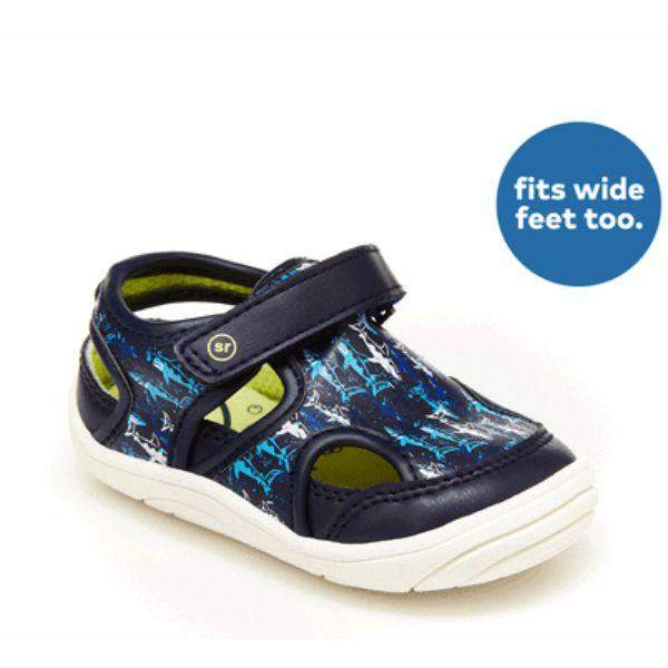 Stride Rite Wave Blue Infant/Toddler Sandals (Water Friendly)