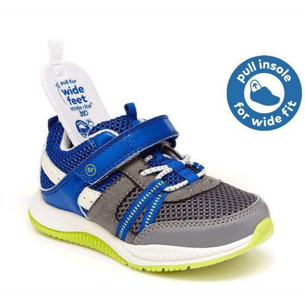 Stride Rite M2P Blitz Boys Running Shoes (Machine Washable)