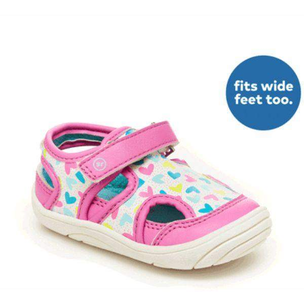 Stride Rite Wave Pink Infant/Toddler Sandals (Water Friendly)