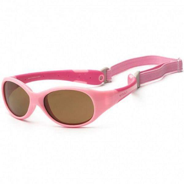Sunglasses - Koolsun Pink Flex Kids SunGlasses / UV400 Protection