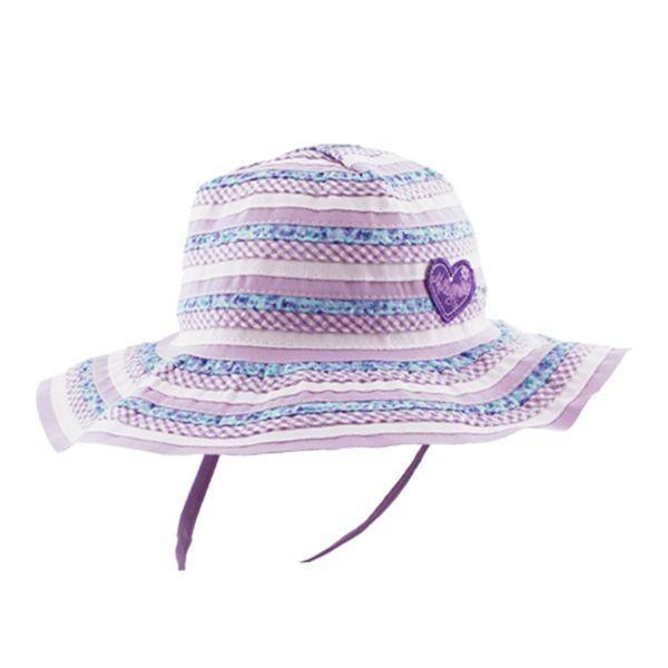 Sunhat - Millymook Kids Sun Hat Girls Floppy Sweetheart 50+UV Rating