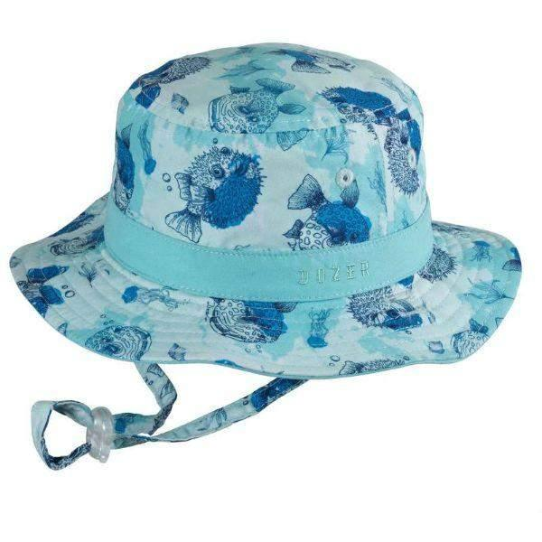 Dozer Baby Boys Bucket Kids Sun Hat Bubble 50+UPF Sun Protection