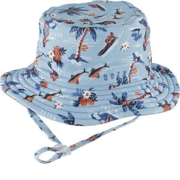 Dozer Baby Boys Bucket Kids Sun Hat Makai 50+UPF Sun Protection